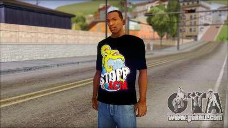 Anti ACTA T-Shirt for GTA San Andreas