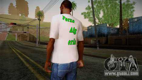 Keep Calm and Love Shirt for GTA San Andreas second screenshot