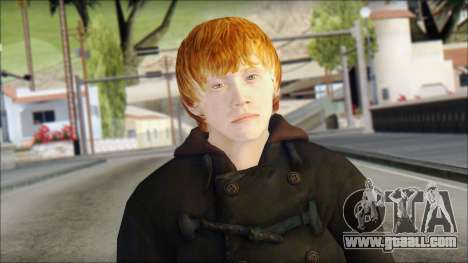 Ron Weasley for GTA San Andreas third screenshot