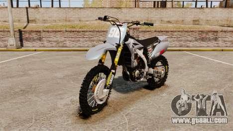 Yamaha YZF-450 v1.1 for GTA 4