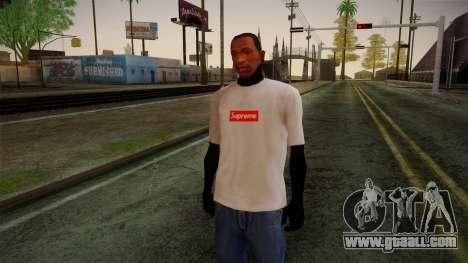 Supreme T-Shirt for GTA San Andreas