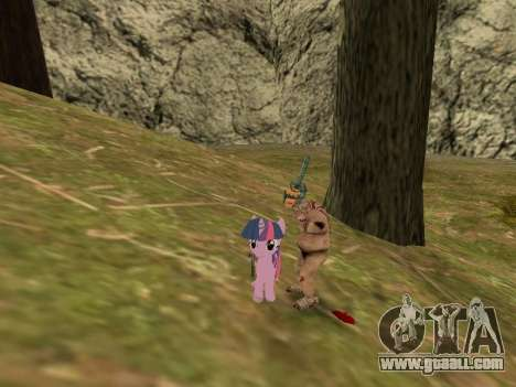 Twilight Sparkle for GTA San Andreas third screenshot