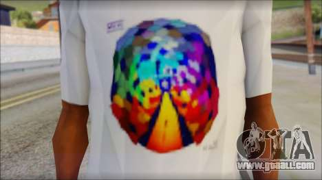 Muse Resistance T-Shirt for GTA San Andreas third screenshot