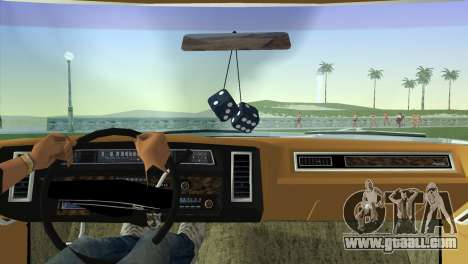 Chevrolet Caprice Classic 1973 for GTA Vice City back left view