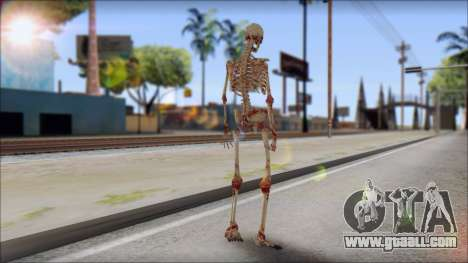 Skeleton from Sniper Elite v2 for GTA San Andreas second screenshot