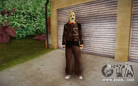 Corey Taylor Skin for GTA San Andreas