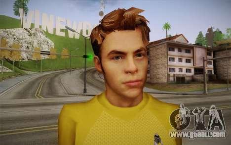 James T. Kirk From Star Trek for GTA San Andreas third screenshot