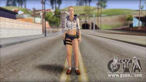 Sherry Birkin Mercenaries from Resident Evil 6 for GTA San Andreas