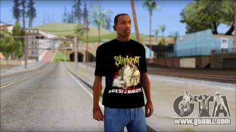 SlipKnoT T-Shirt v5 for GTA San Andreas