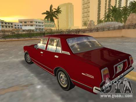 Toyota Cressida RX30 1977 for GTA Vice City left view