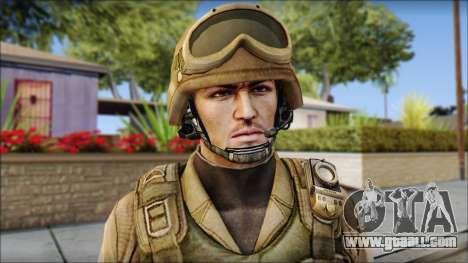 Desert Gafe Soldier Front 2 for GTA San Andreas third screenshot