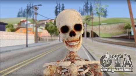 Skeleton from Sniper Elite v2 for GTA San Andreas third screenshot