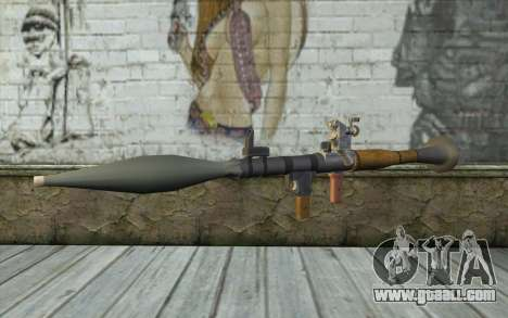 Rocket launcher AG7 for GTA San Andreas