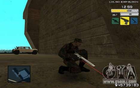 C-HUD by SampHack v.9 for GTA San Andreas