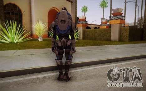 Garrus from Mass Effect 3 for GTA San Andreas second screenshot