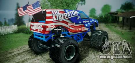 The Liberator - DLC Independence for GTA San Andreas left view