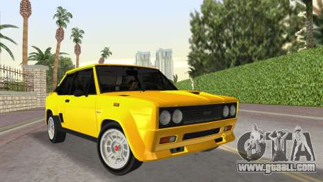 Fiat 131 Abarth Rally 1976 for GTA Vice City