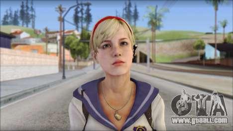 Sherry Birkin Mercenaries from Resident Evil 6 for GTA San Andreas third screenshot