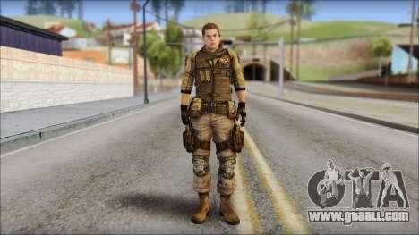 Piers Nivans Resident Evil 6 for GTA San Andreas