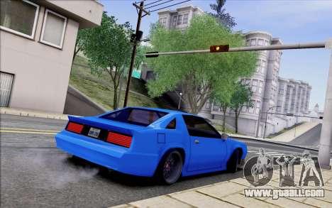 Buffalo Drift Style for GTA San Andreas back view