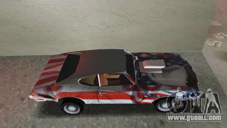 Oldsmobile 442 1970 v2.0 for GTA Vice City back left view