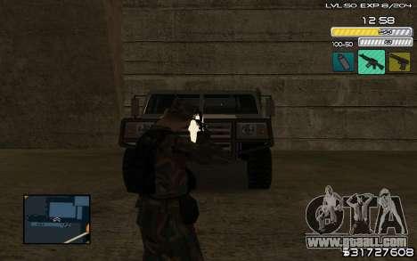 C-HUD by SampHack v.9 for GTA San Andreas second screenshot