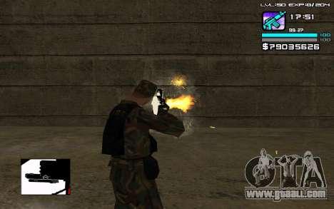 Perfect C-HUD for GTA San Andreas third screenshot