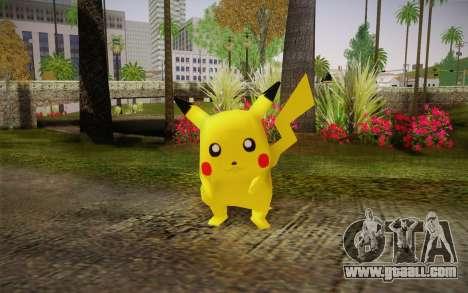 Pikachu for GTA San Andreas