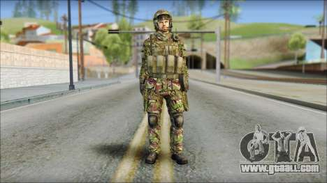 Forest SAS from Soldier Front 2 for GTA San Andreas