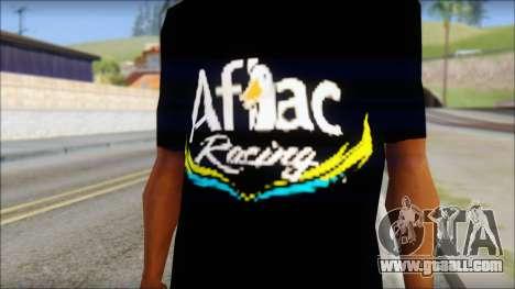 Fictional Carl Edwards T-Shirt for GTA San Andreas third screenshot