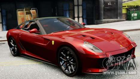 Ferrari 599 GTO for GTA 4 left view