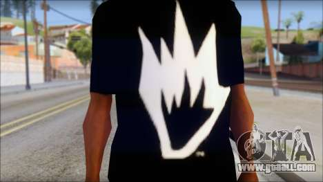 Afends T-Shirt for GTA San Andreas third screenshot