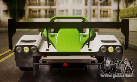 Radical SR8 Supersport 2010 for GTA San Andreas inner view