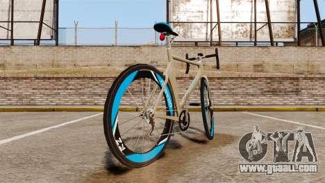 GTA V Tri-Cycles Race Bike for GTA 4 back left view