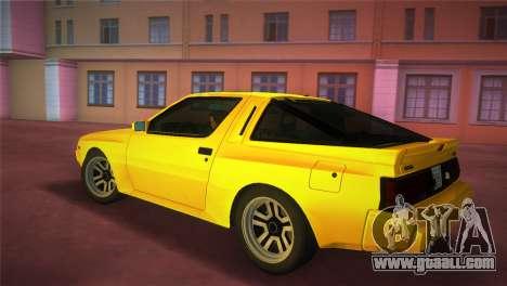 Mitsubishi Starion ESI-R 1986 for GTA Vice City left view
