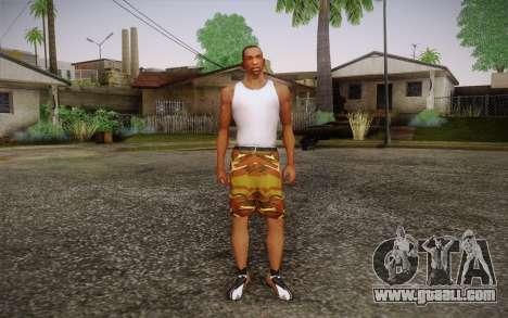 Camo Shorts Pants for GTA San Andreas