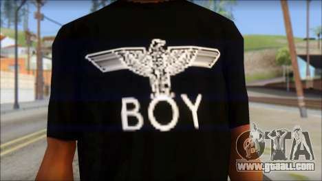 Boy Eagle T-Shirt for GTA San Andreas third screenshot