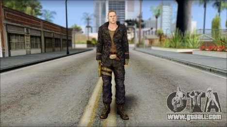 Jake Muller from Resident Evil 6 v2 for GTA San Andreas
