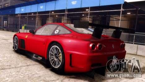 Ferrari 575 GTC for GTA 4 left view