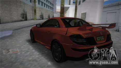 Mercedes-Benz SLK55 AMG Tuned for GTA Vice City left view