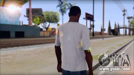 Rise Against T-Shirt V2.1 for GTA San Andreas second screenshot