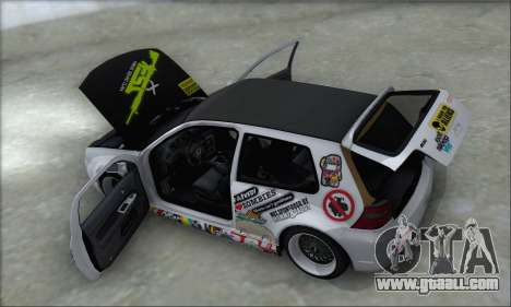 Volkswagen Golf MK4 R32 for GTA San Andreas wheels