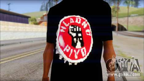 Hladno Pivo T-Shirt for GTA San Andreas third screenshot