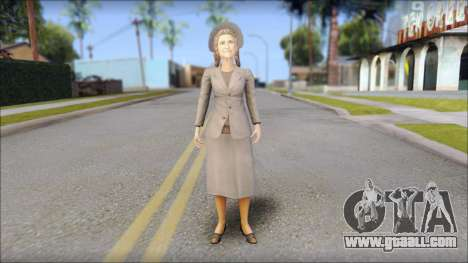 Old Lady for GTA San Andreas