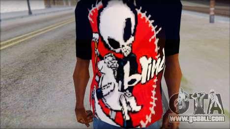 Blind Shirt for GTA San Andreas third screenshot