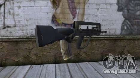 Famas from CS:GO v2 for GTA San Andreas second screenshot
