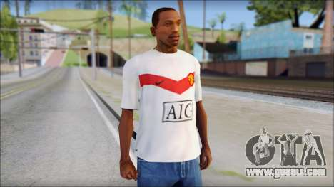 Manchester United Shirt for GTA San Andreas