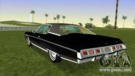 Chevrolet Caprice Classic 1973 for GTA Vice City left view