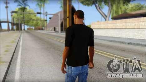 Infected Rain T-Shirt for GTA San Andreas second screenshot