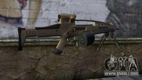 XM8 LMG Dust for GTA San Andreas second screenshot
